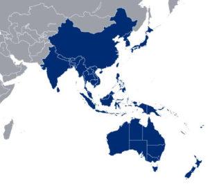 asia region small